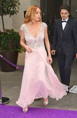 LINDSAY LOHAN at Caudwell Butterfly Ball in London 06/22/2016