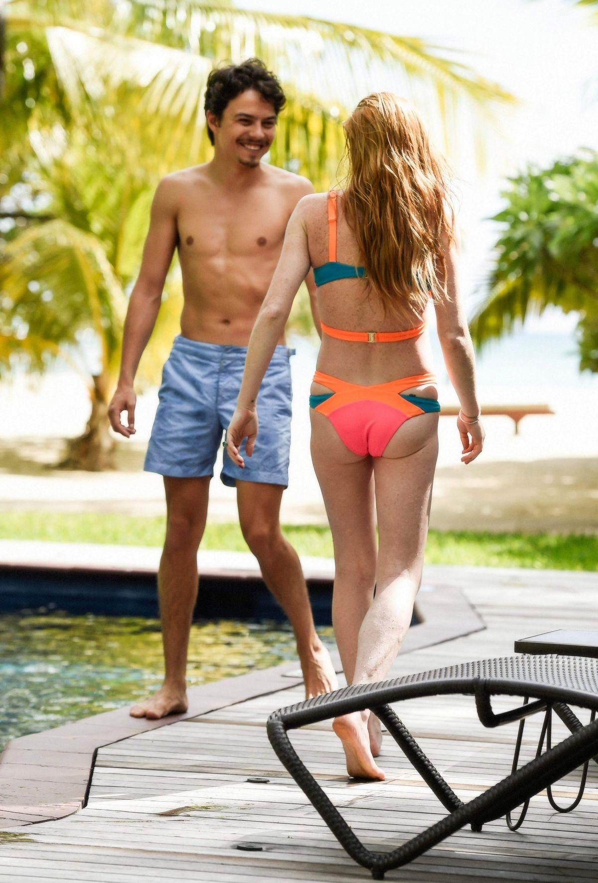Bikini in lindsay lohan picture
