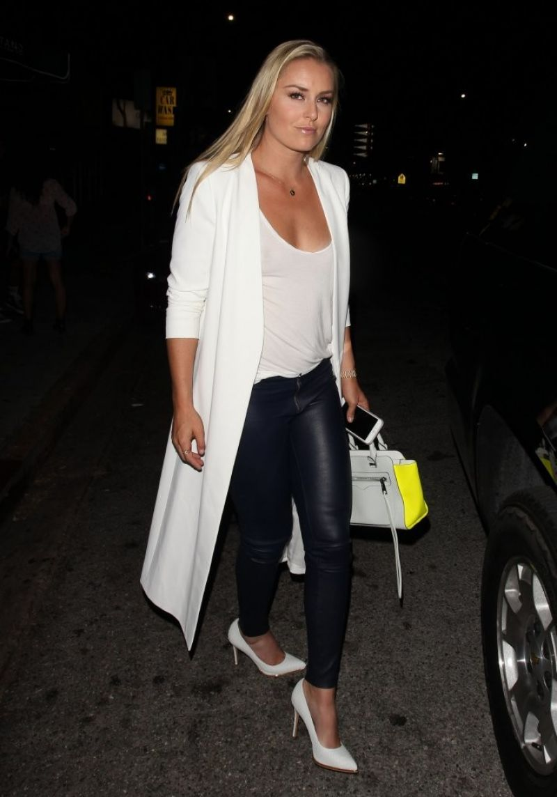 lindsey vonn night out in west hollywood 06242016