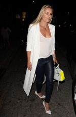 LINDSEY VONN Night Out in West Hollywood 06/24/2016
