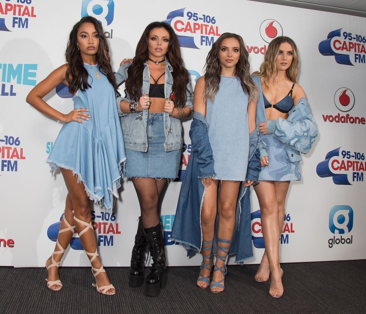 LITTLE MIX at Capital FM Summertime Ball in London 06/11/2016