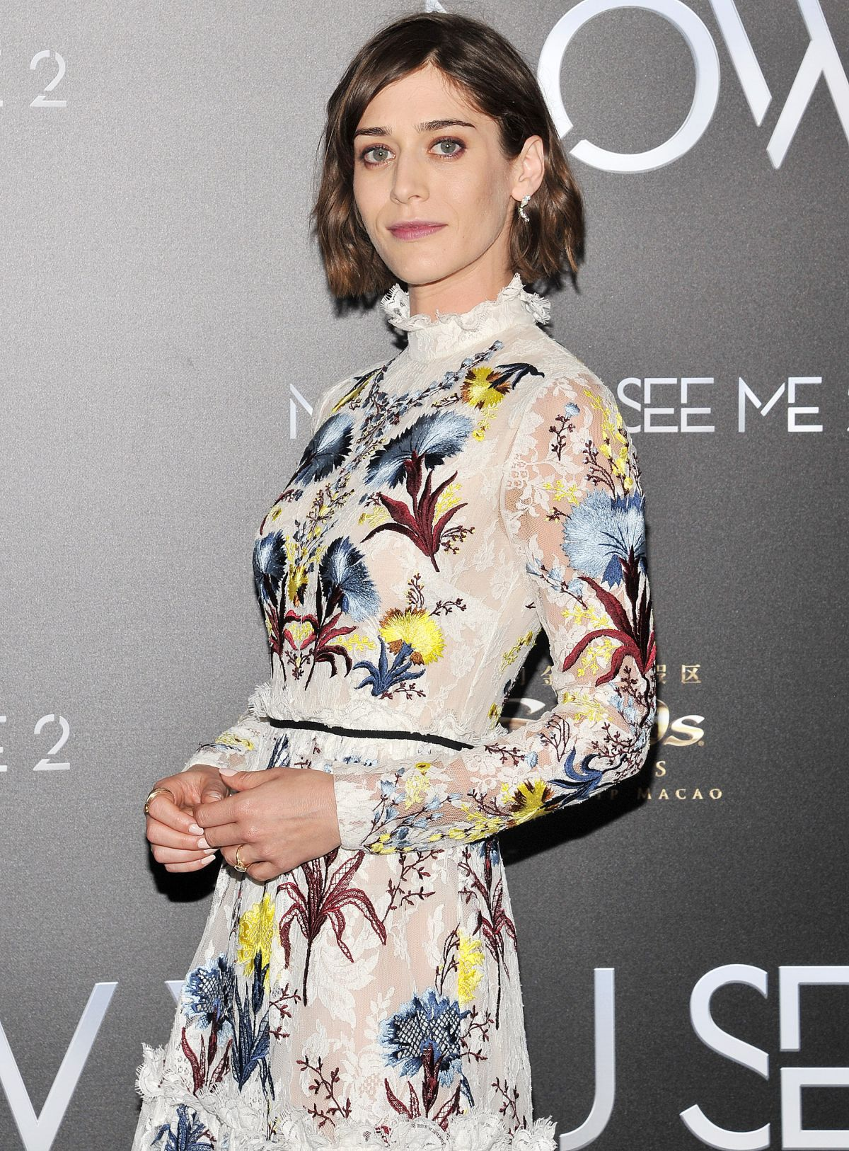 LIZZY CAPLAN at Now You See Me 2 Premiere in New York 06/06/2016