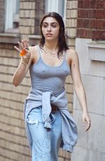LOURDES LEON Out and About in London 06/20/2016