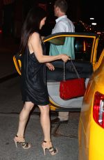 LUCY LIU Leaves Her Hotel in New York 06/16/2016