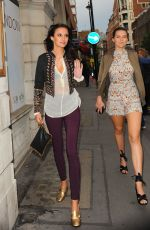 LUCY WATSON Leaves Lelo Hex Launch Party in London 06/16/2016