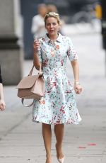 LYDIA BRIGHT Out and About in West London 06/24/2016