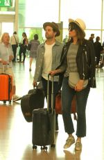 MANDY MOORE at Airport in Barcelona 06/16/2016
