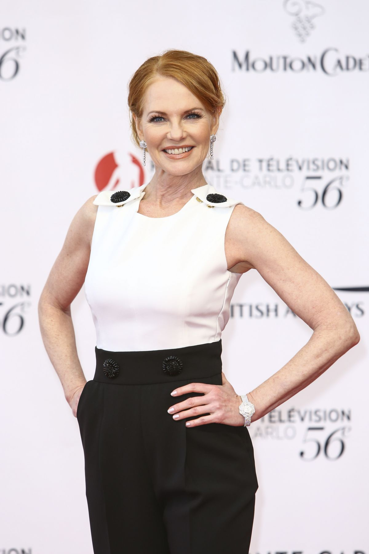 MARG HELGENBERGER at 56th Monte-Carlo Television Festival in Monaco 06/12/2016