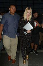 MARGOT ROBBIE at Los Angeles International Airport 06/28/2016
