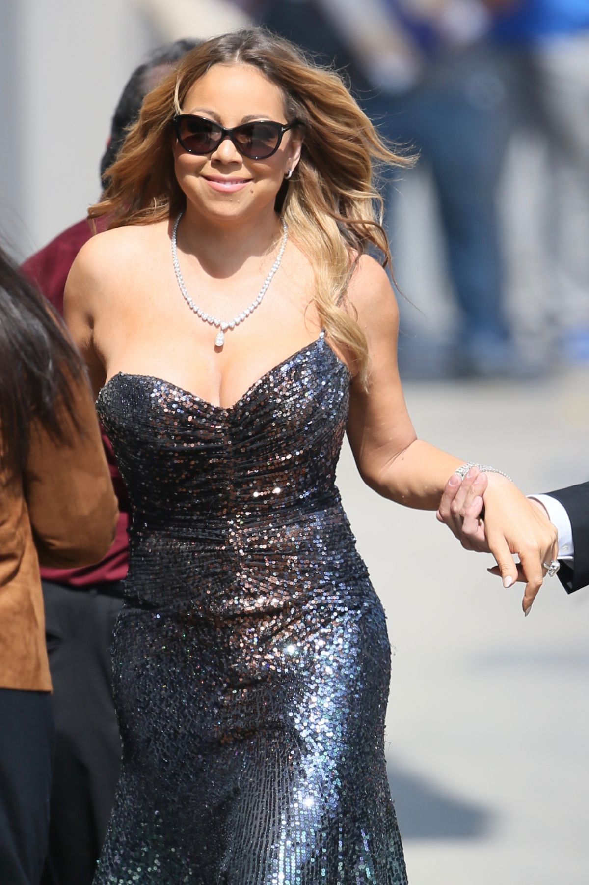 MARIAH CAREY at Jimmy Kimmel Live in Los Angeles 06/01/2016 ...