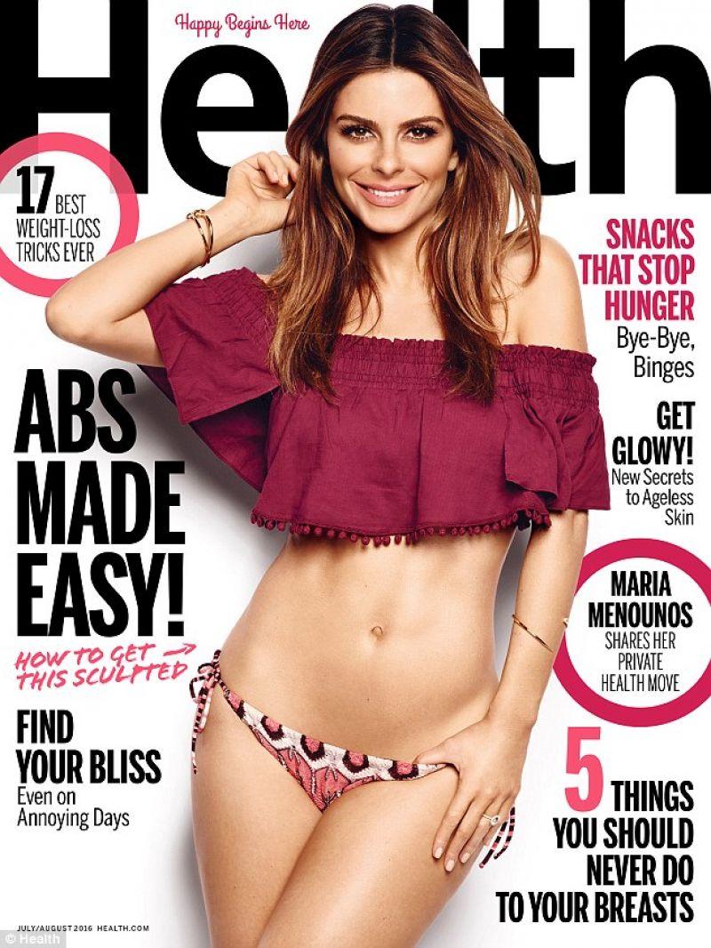 MARUA MENOUNOS in Health Magazine, July/August 2016 Issue
