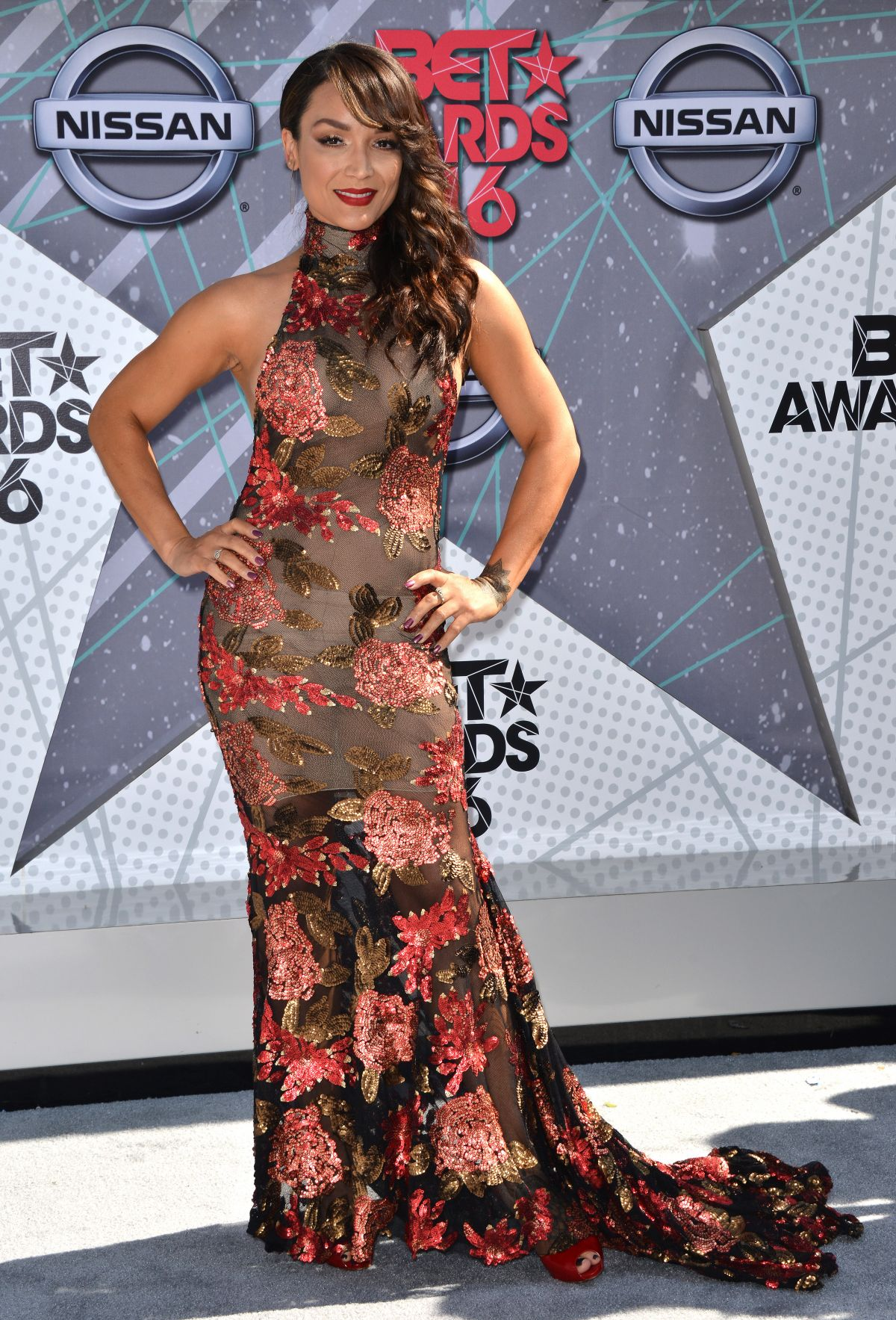 MAYTE GARCIA at 2016 BET Awards in Los Angeles 06/26/2016