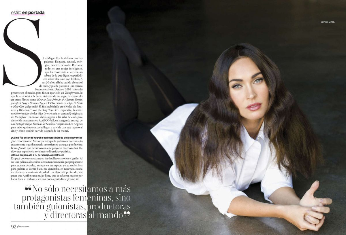 MEGAN FOX in Glamour Magazine, Latin America June 2016 Issue