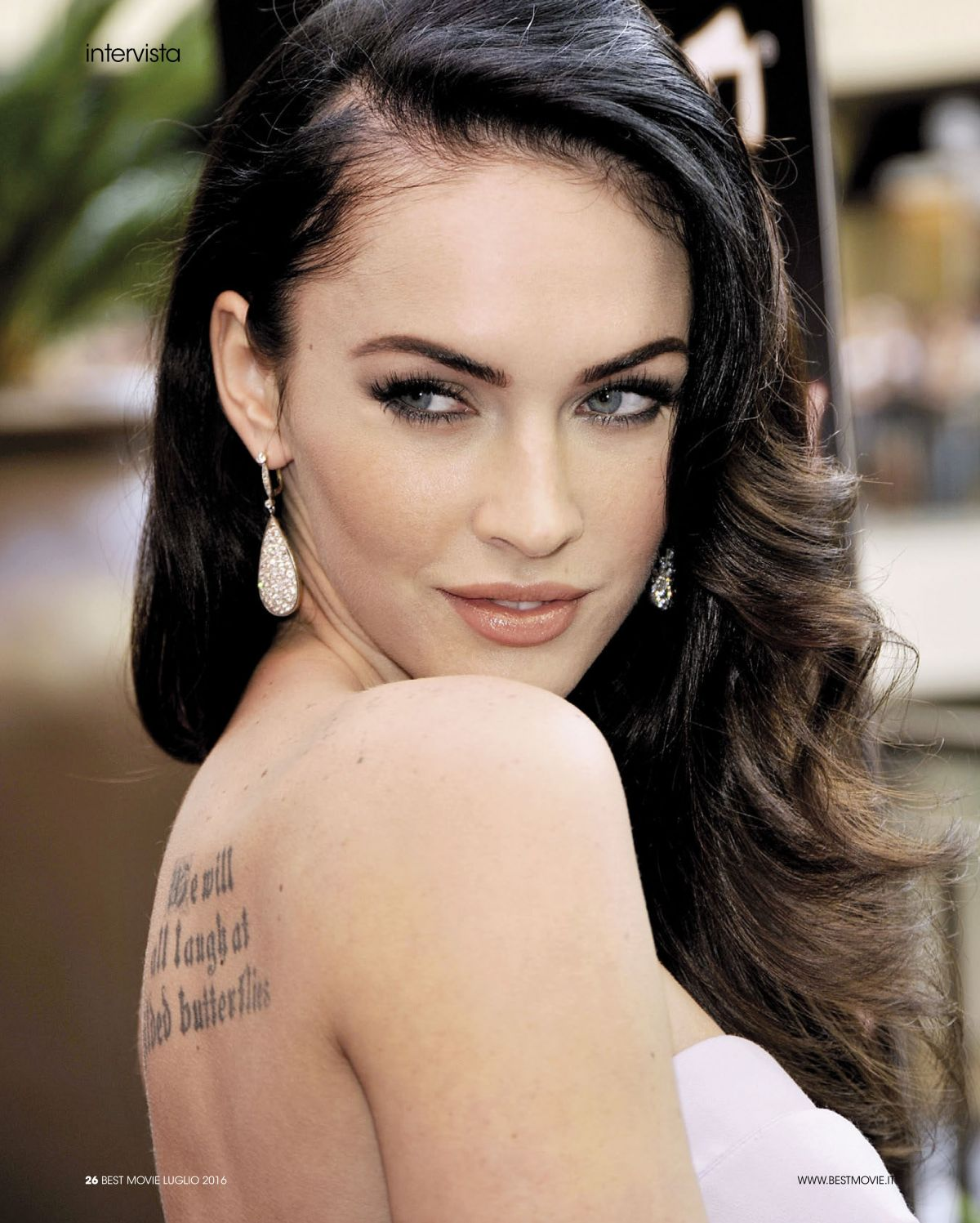 MEGAN FOX in SFX Magazine, August 2016