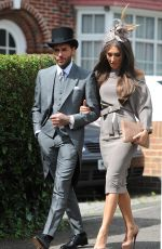 MEGAN MCKENNA Heading to Ascot Races for Ladies Day 06/16/2016