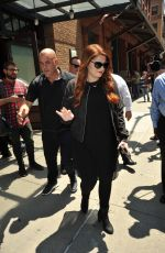 MEGHAN TRAINOR Leaves Her Hotel in New York 06/26/2016