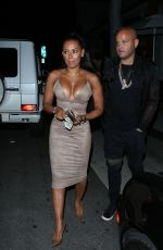 MELANIE BROWN at Mr Chow in Los Angeles 06/14/2016