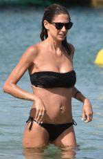 MELISSA SATTA in Bikini on the Beach in Porto Cervo  06/26/2016