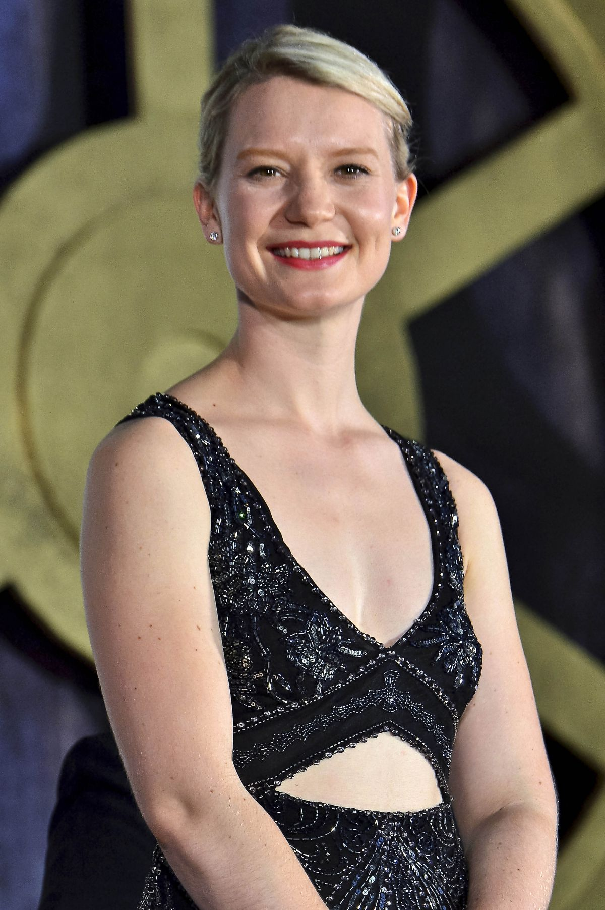 MIA WASIKOWSKA at Alice Through the Looking Glass Premiere in Tokyo 06/22/2016