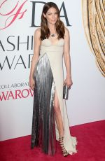 MICHELLE MONAGHAN at CFDA Fashion Awards in New York 06/06/2016