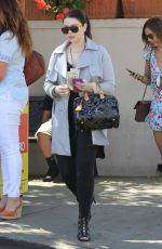 MICHELLE TRACHTENBERG Out for Lunch at Il Pastaio in Beverly Hills 06/08/2016