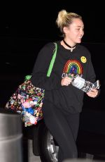 MILEY CYRUS at JFK AIRPORT in New York 06/11/2016