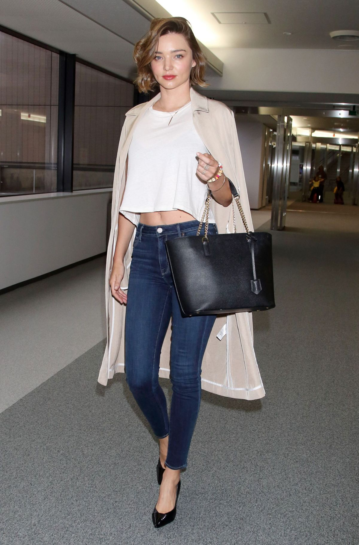 MIRANDA KERR at Narita International Airport in Tokyo 06/18/2016