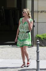 MISCHA BARTON Out and About in Berlin 06/28/2016