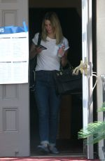 MISCHA BARTON Out Voting in Beverly Hills 06/07/2016
