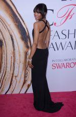 NAOMI CAMPBELL at CFDA Fashion Awards in New York 06/06/2016
