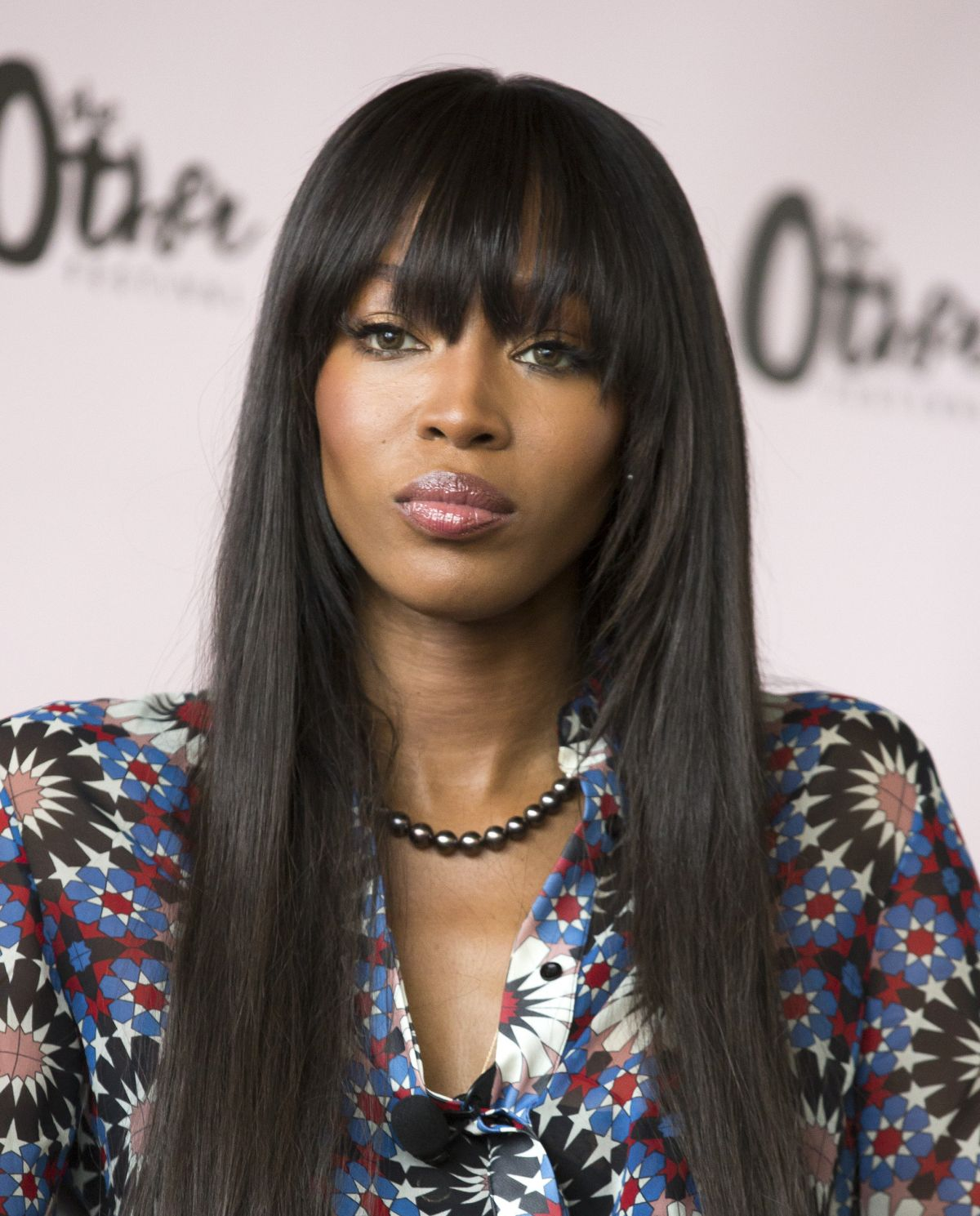 NAOMI CAMPBELL At Other Festival At Spring Studios In New