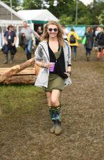 NATALIE DORMER at Glastonbury Festival 06/24/16