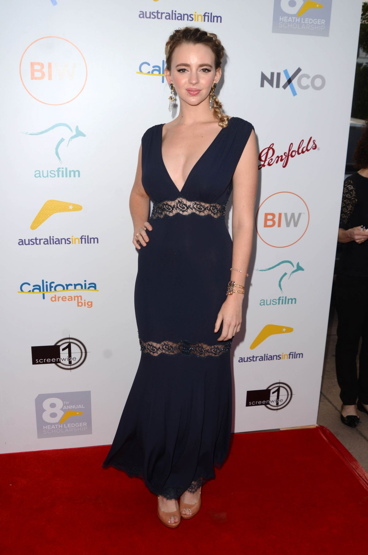 NATASHA BASSETT at 2016 Australians in Film Heath Ledger Scholarship Dinner in Beverly Hills 06/01/2016