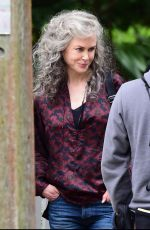 NICOLE KIDMAN on the Set of