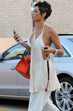 NICOLE MURPHY Out and About in Beverly Hills 06/26/2016