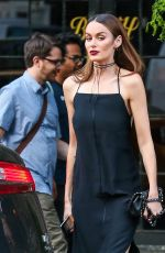 NICOLE TRUNFIO Out anf About in New York City 06/07/2016