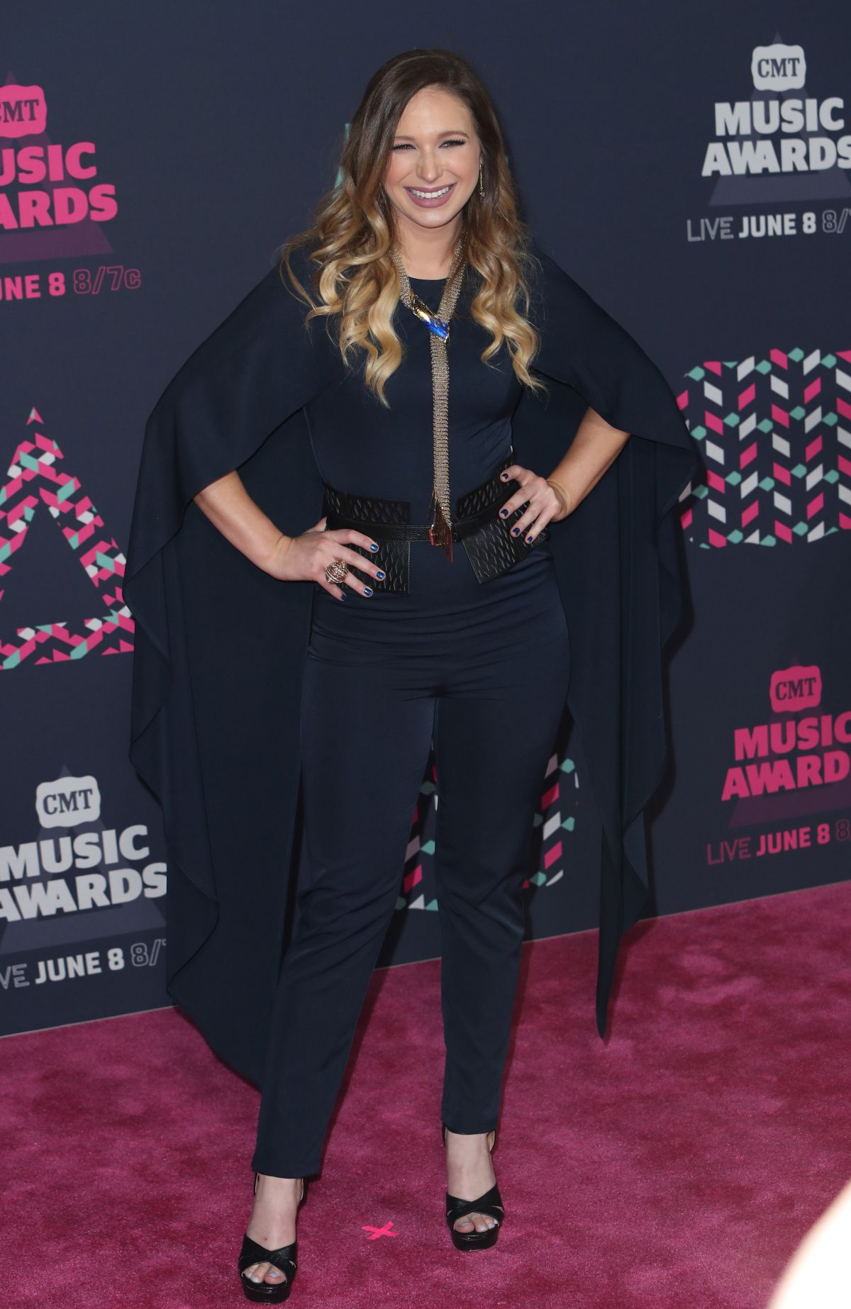 OLIVIA LANE at 2016 CMT Music Awards in Nashville 06/08/2016