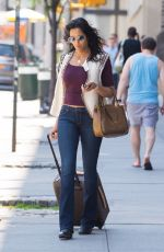 PADMA LAKSHMI  Out and About in New York 06/19/2016