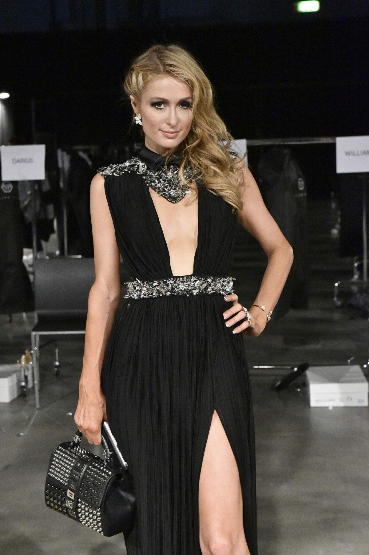 PARIS HILTON at Philip Plein Fashion Show at Milan Fashion ... Paris Hilton