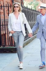 PENNY LANCASTER at Scotts Resturant in London 06/09/2016