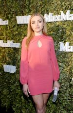 PEYTON LIST at 2016 Women in Film Max Mara Face of Future in Los Angeles 06/14/2016