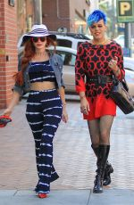 PHOEBE PRICE Out with a Friend in Beverly Hills 06/15/2016