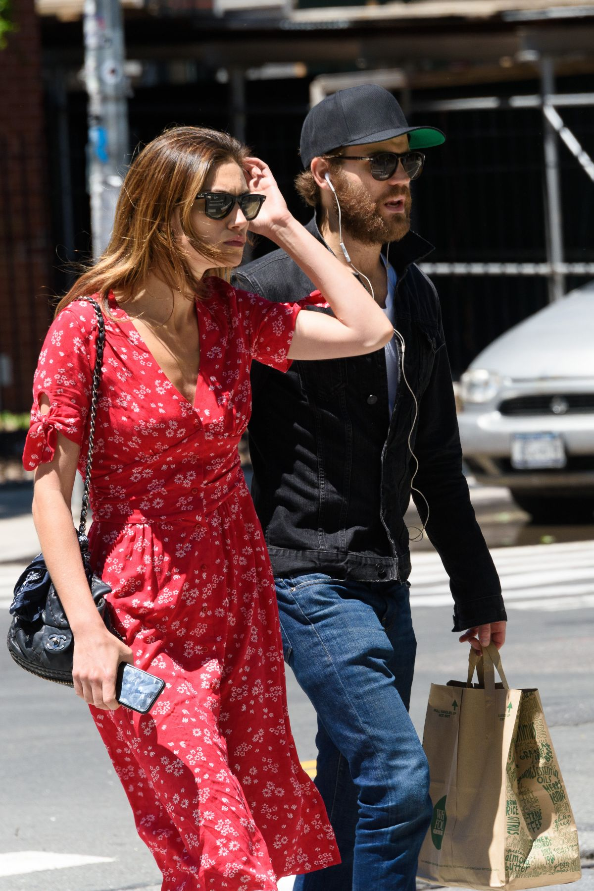 PHOEBE TONKIN and Paul Wesley Out in East Village 06/09/2016