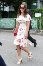 PIPPA MIDDLETON Arrives at Championships in Wimbledon 06/27/2016