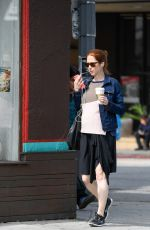Pregnant ELLIE KEMPER Out and About in Los Feliz 06/09/016