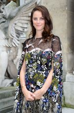 Pregnant KAYA SCODELARIO at Valentino Menswear Spring/Summer 2017 Fashion Show in Paris 06/22/2016