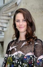 Pregnant KAYA SCODELARIO at Valentino Menswear Spring/Summer 2017 Show in Paris 06/22/2016