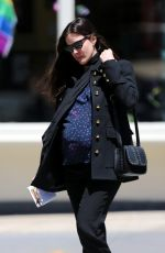 Pregnant LIV TYLER Out in Wwest Village in New York 06/09/2016