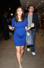 Pregnant LUISA ZISSMAN at Channel 4 Studios in East London 06/22/2016