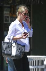 Pregnant NICKY HILTON Out in New York 06/10/2016
